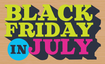 Target Black Friday in July