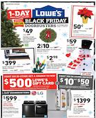 Lowes Black Friday 2019